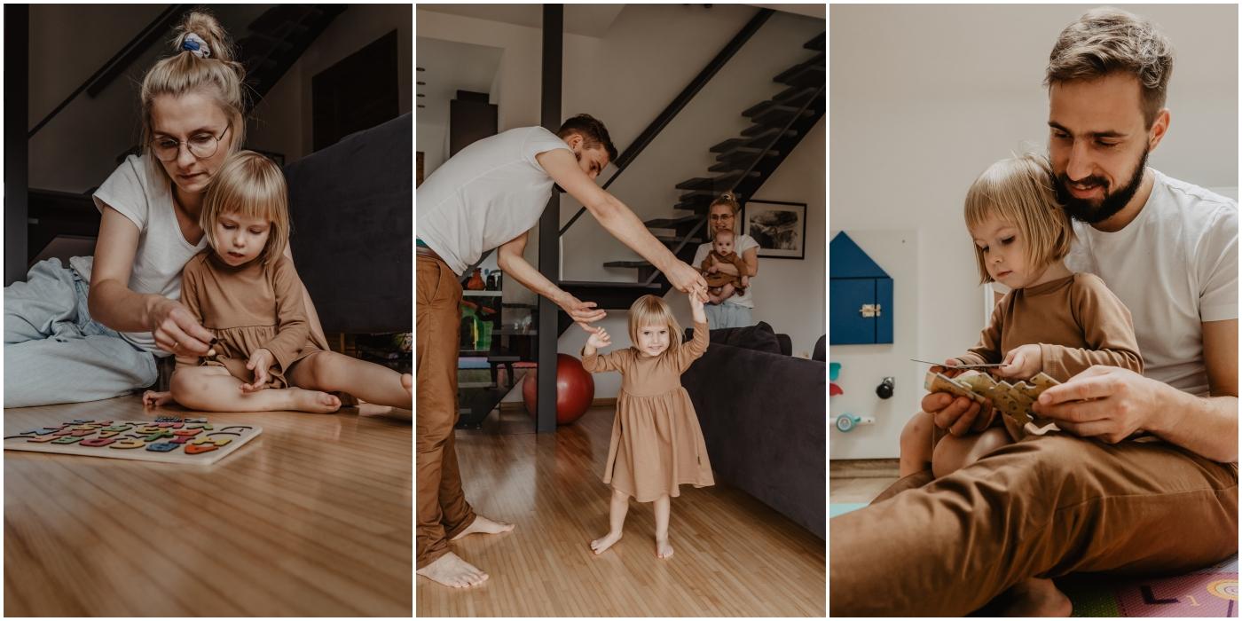 rodzinna sesja w domu, sesja rodzinna warszawa, sesja lifestyle warszawa, naturalne zdjecia rodzinne warszawa, fotograf rodzinny warszawa